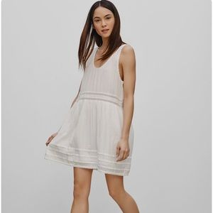 Aritzia Azure Skies Cotton Mini Dress